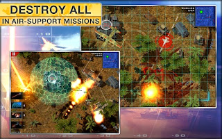 Modern Command android game action