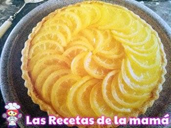 Receta de Pastel de limón y naranja