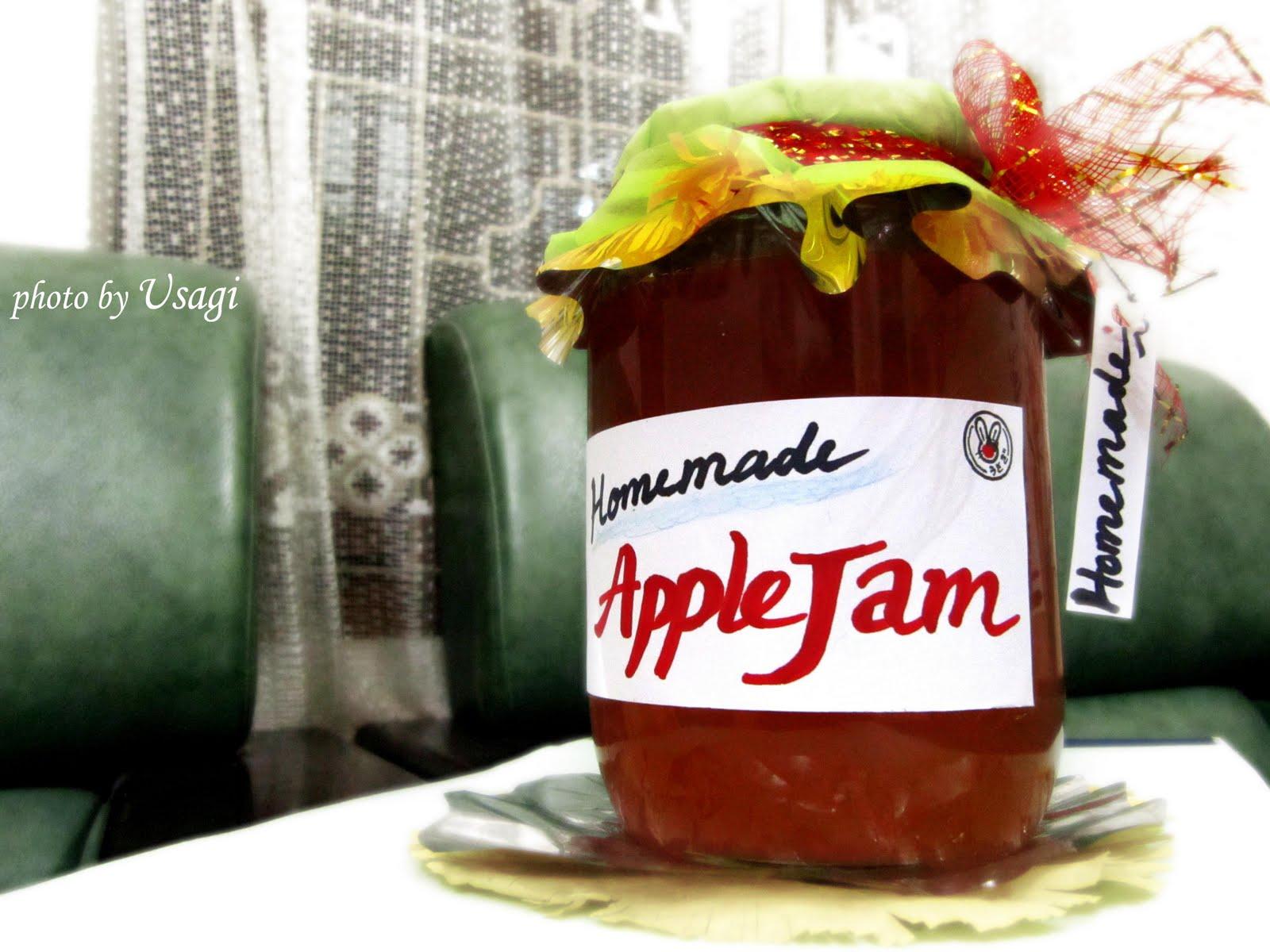 Usagi Tsukino: Home-made apple jam recipe ~ YUMMY!!