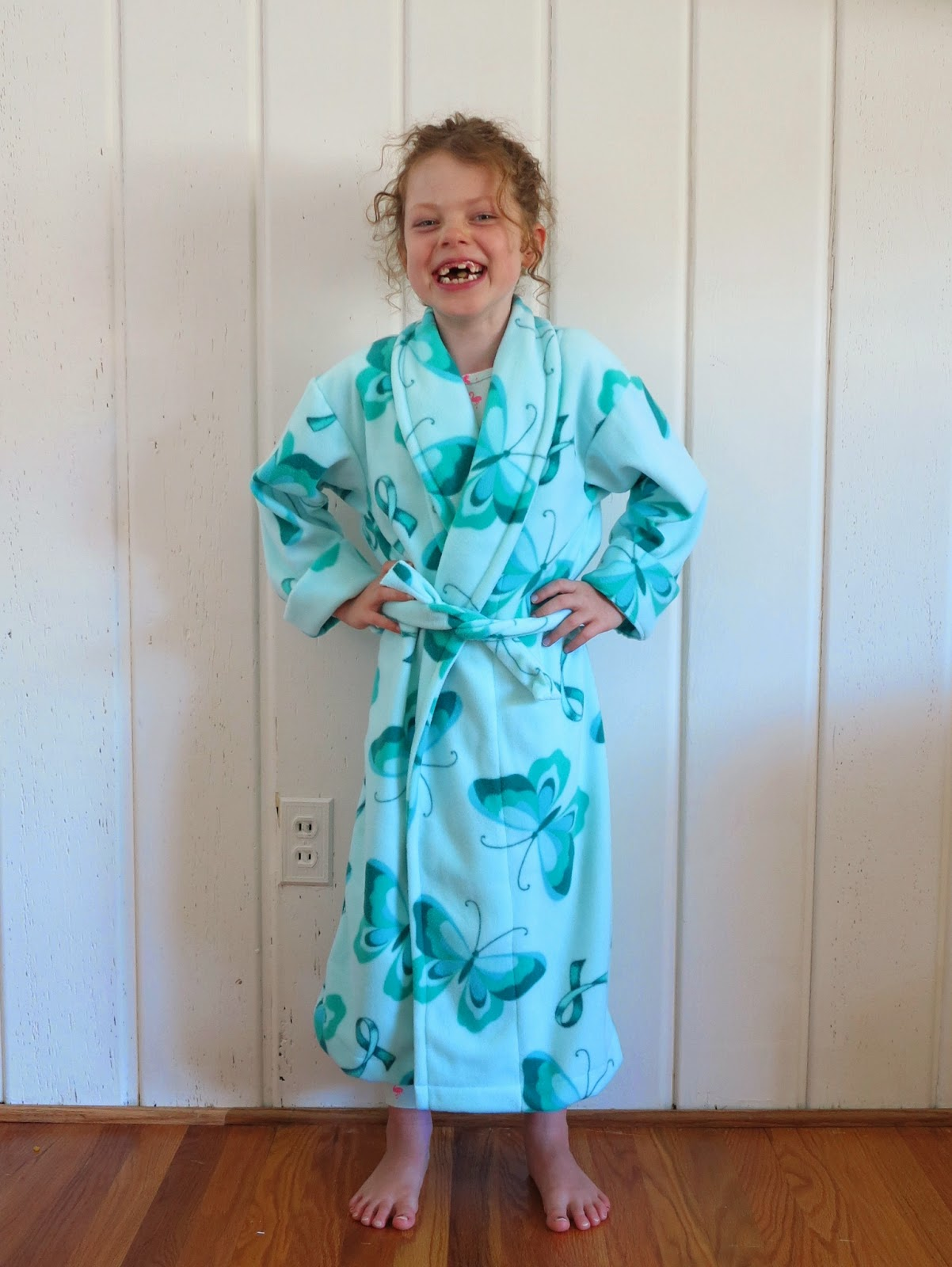 first and i kimono dress