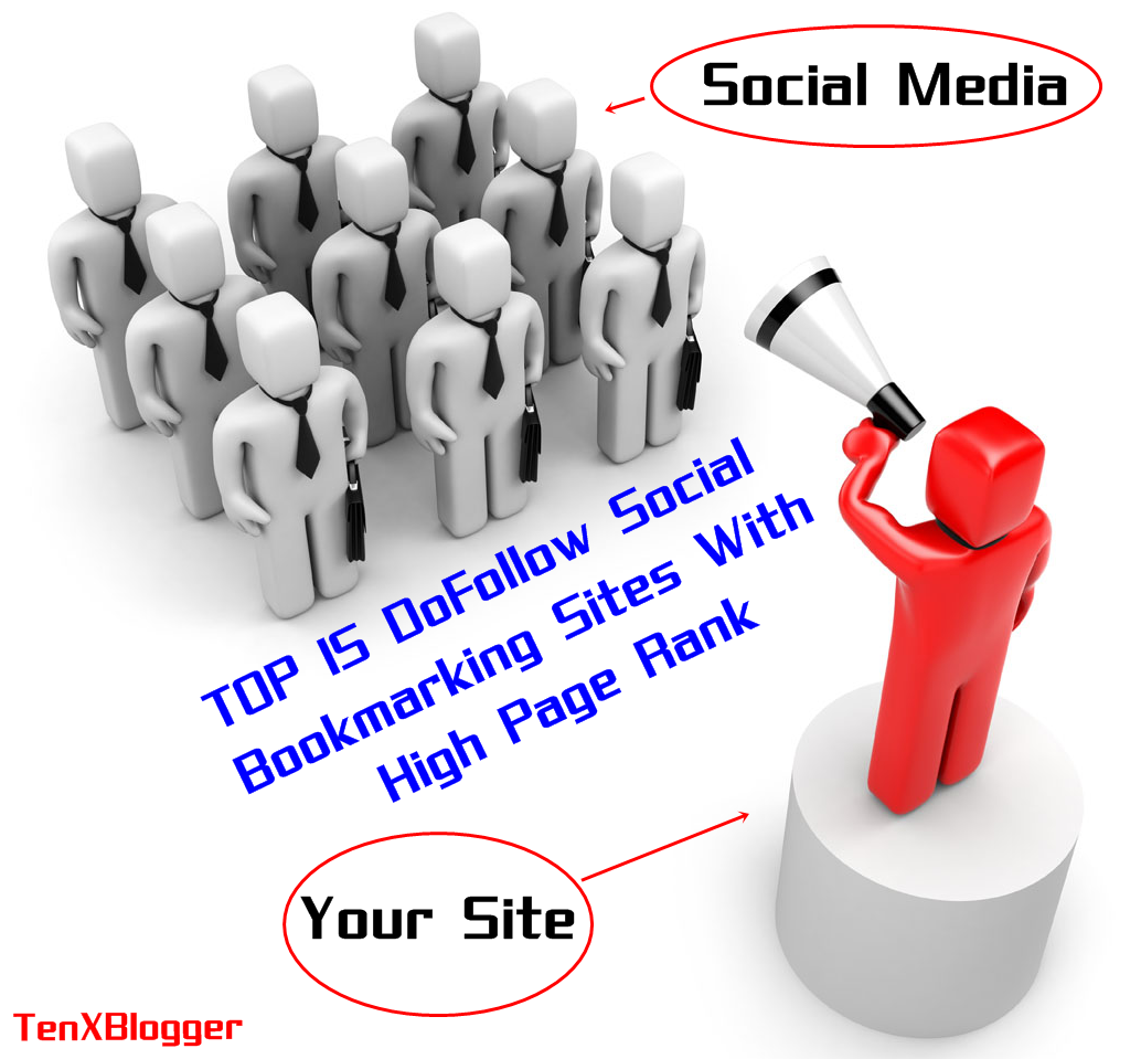 Here am Share Top 15 DoFollow Social Bookmarking Sites of 2014 that are now frequently Used. Dofollow Social Bookmarking Sites with High Page Rank