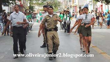 DESFILE CÍVICO JANAÚBA 2013 PROJETO ADOLESCENTE CIDADÃO