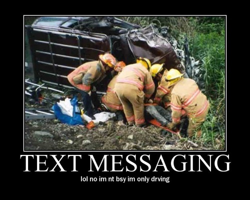 Texting Car Crash Car Accidents From Texting