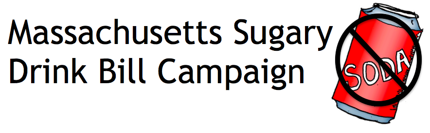 Massachusetts Sugary Drinks Bill Campaign