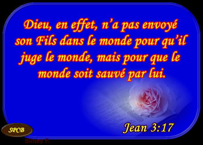 Connu Parole de Dieu: Jésus et l'amour du Père (Jean 3,14 - 21 ) VG27