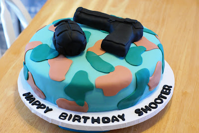 Lacey Cakes: Call of Duty cake