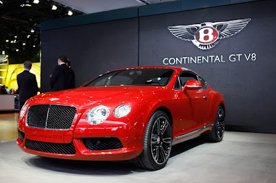 Bentley releases Continental GT V8 S with more power and luxury