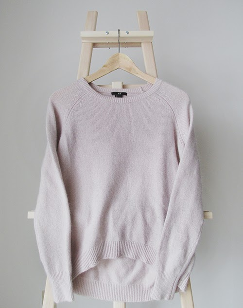 powder+pink+sweater, pink+sweater, h&m+sweater