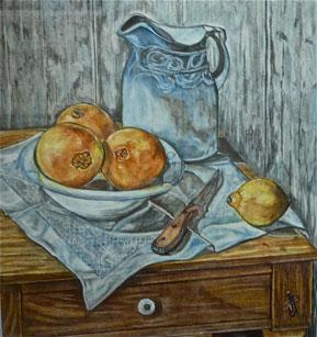 Tres naranjas y un limón