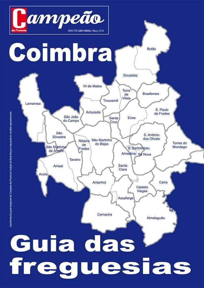Guia das freguesias de Coimbra