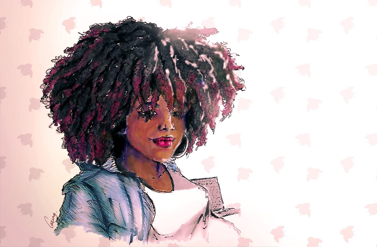 """Résultat de recherche d'images pour """"cheveux courts femme black dessin"""""""