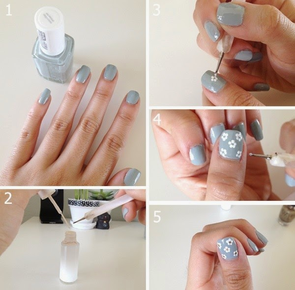 Simple Nail Art Tutorials For Beginners Fashionandstyle