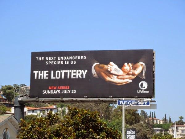 The Lottery season 1 billboard