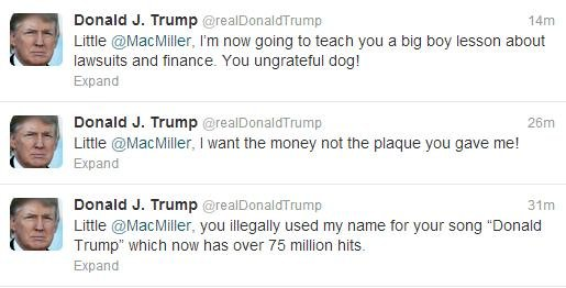Mac Miller Donald Trum...