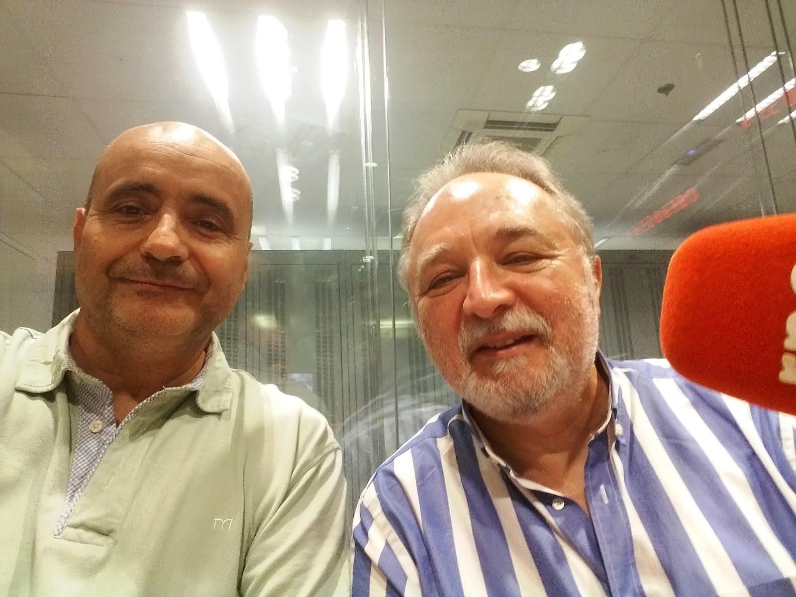 """Manuel Seara me entrevistó en """"A Hombros de Gigantes""""."""