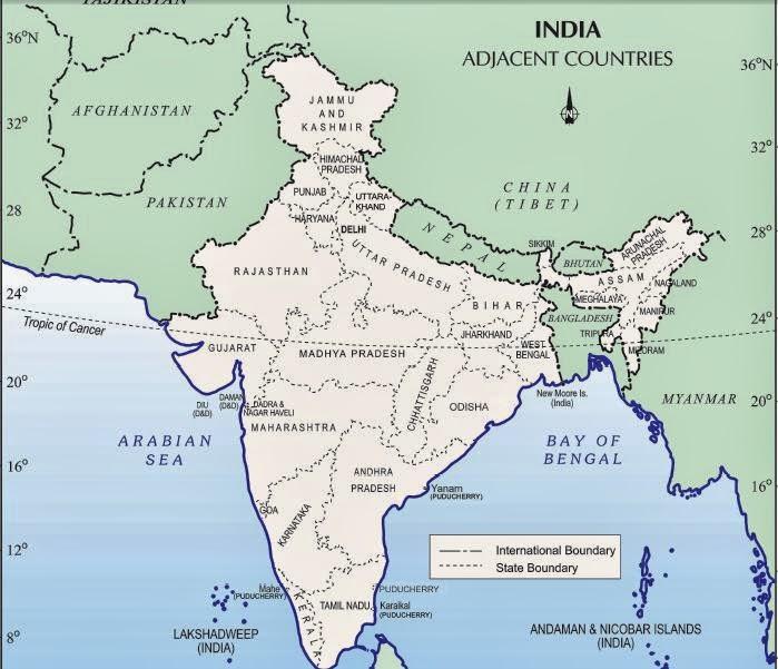 Upsctarget2014 october 2013 tropic of cancer passes through the states guzaratrajasthan madhya pradeshchattisgarhjharkhandwest bengaltripuramizoram gumiabroncs Image collections
