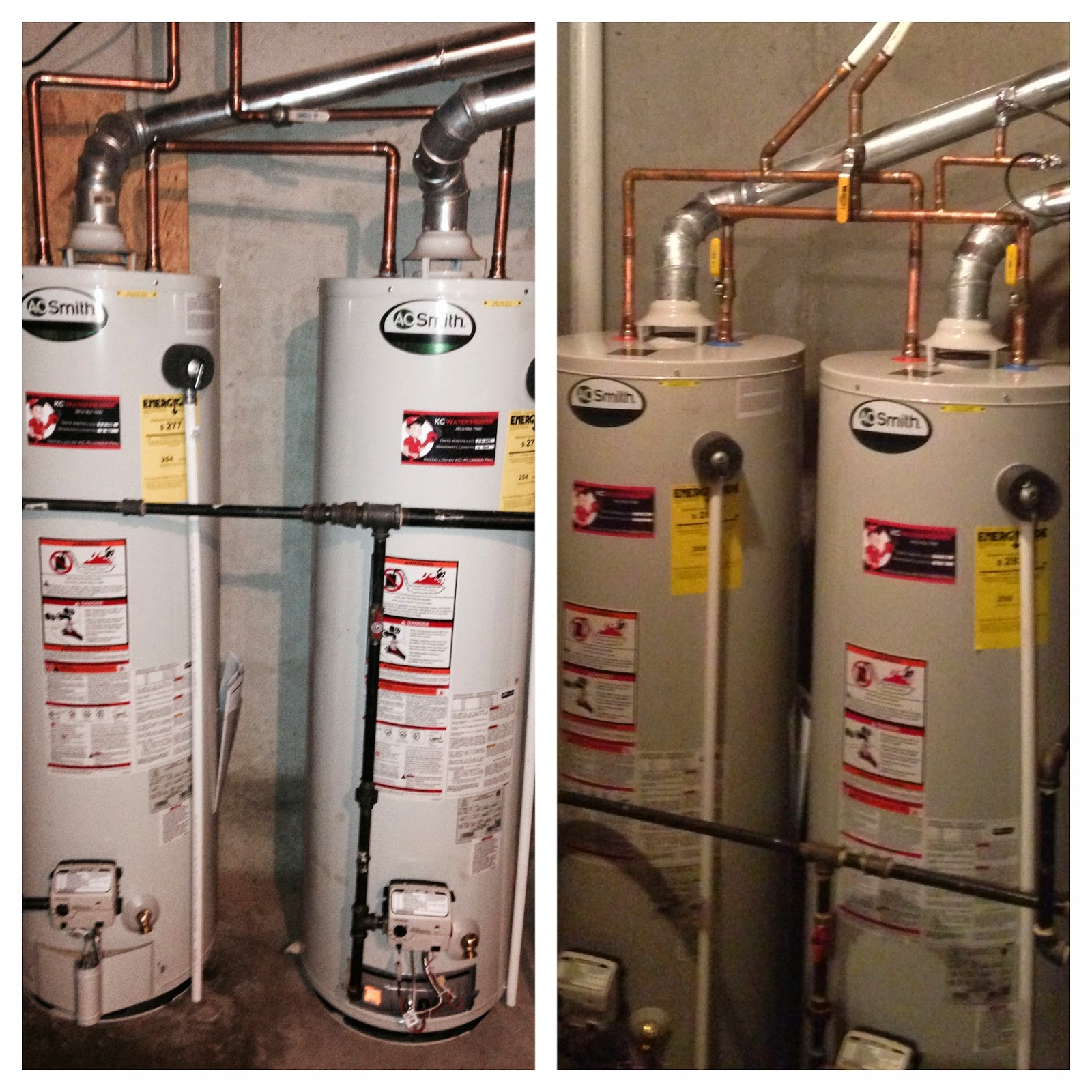 How to vent a hot water heater - Series Vs Parallel When Installing A Second Water Heater
