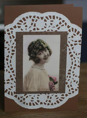 Vintage Karten nostalgisch romantisch