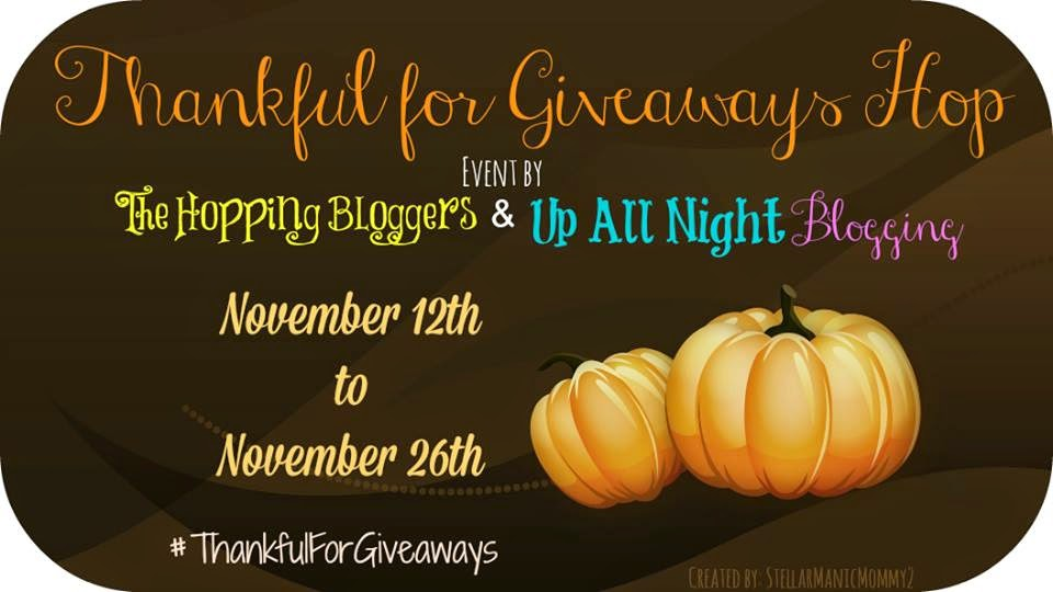 Thankful For Giveaways Giveaway Hop