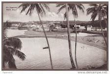 Foz do Rio Lucaia - Rio Vermelho em postais antigos