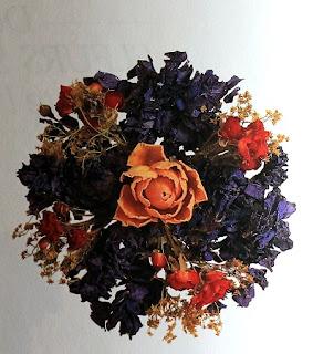 Composiciones con Flores Secas, Verano, Primavera, Otoño, Invierno