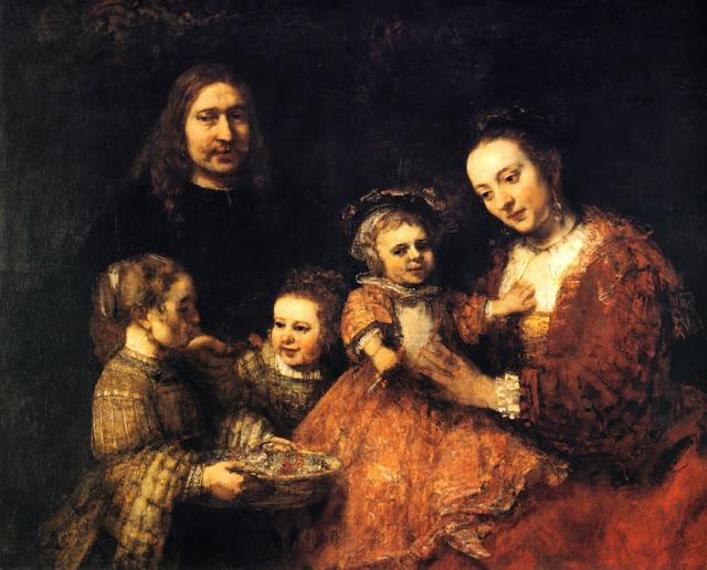 Portrait de famille de Rembrandt, vers 1667