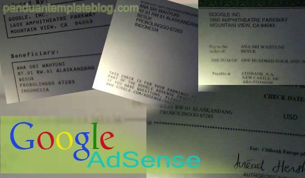 Panduan Blog Untuk Google AdSense