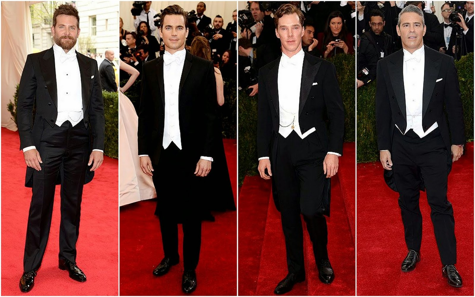 White Tie With Decorations Met Gala 2014 White Tie And Decorations Fashion Photo