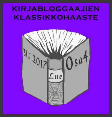 LUKUHAASTEET 2017: Kirjabloggaajien klassikkohaaste osa 4