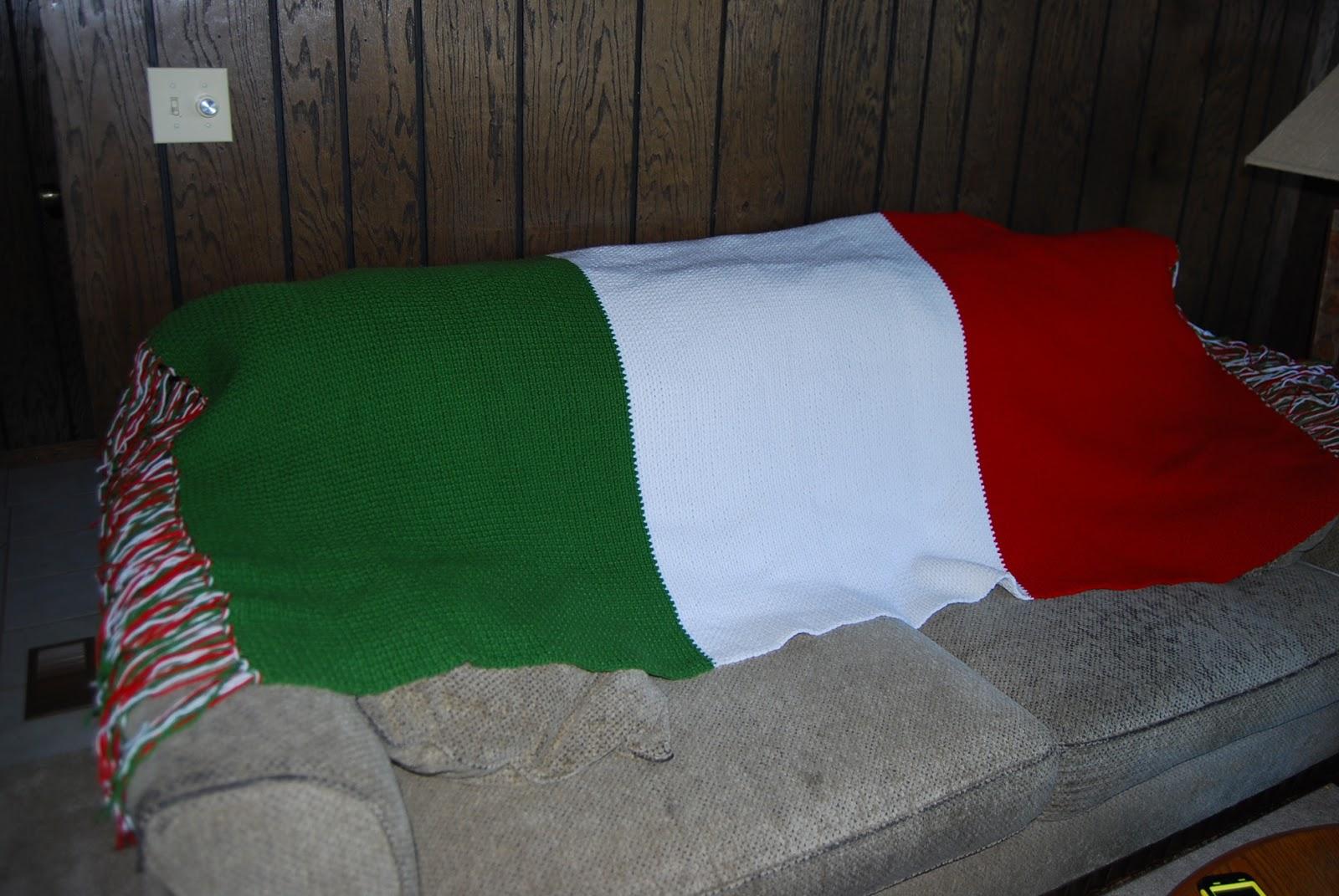 Wilamar Farm: Crocheted Italian Flag