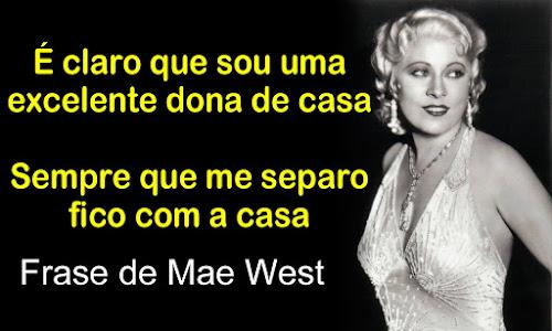 frase de mae west