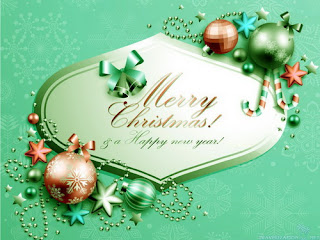 Happy Merry Christmas Text