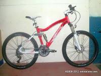 26 Inch Forward Alexius 1.0 Full Suspension Mountain Bike
