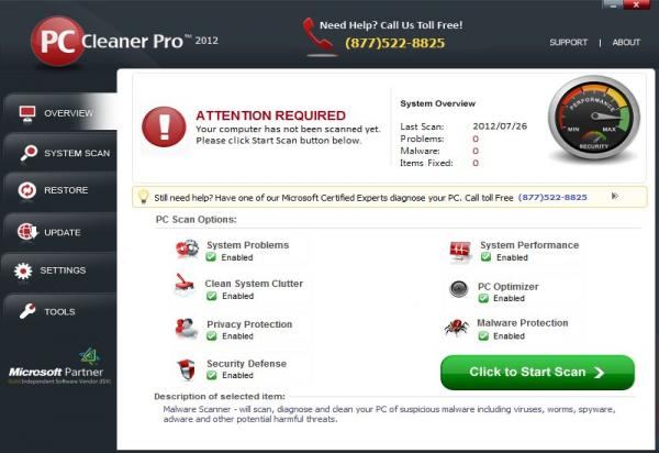 PC Cleaner 2012 Professional 11.12.7.16 Free Full Version Download