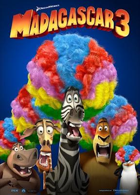 Cartel de 'Madagascar 3', película en la que Paz Vega hará de dobladora. Making Of