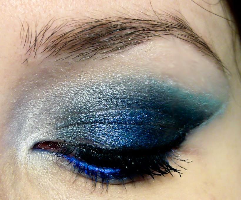 Maquillaje de Ojos para Año Nuevo, parte 5