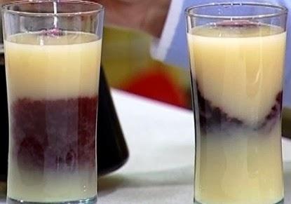 طريقة عمل كوكتيل الجوافة والعنب