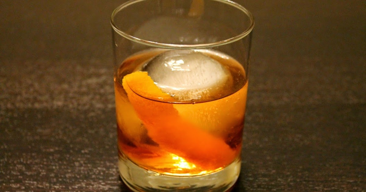 Improved Old Fashioned Cocktail