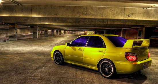 colored tint