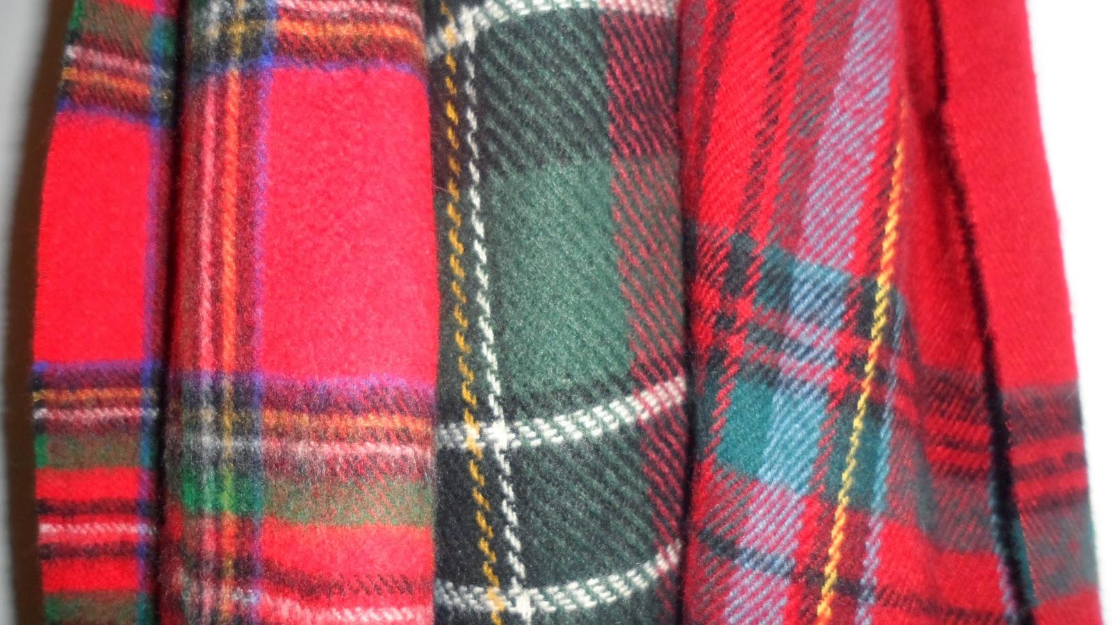 rachael tartan scarves