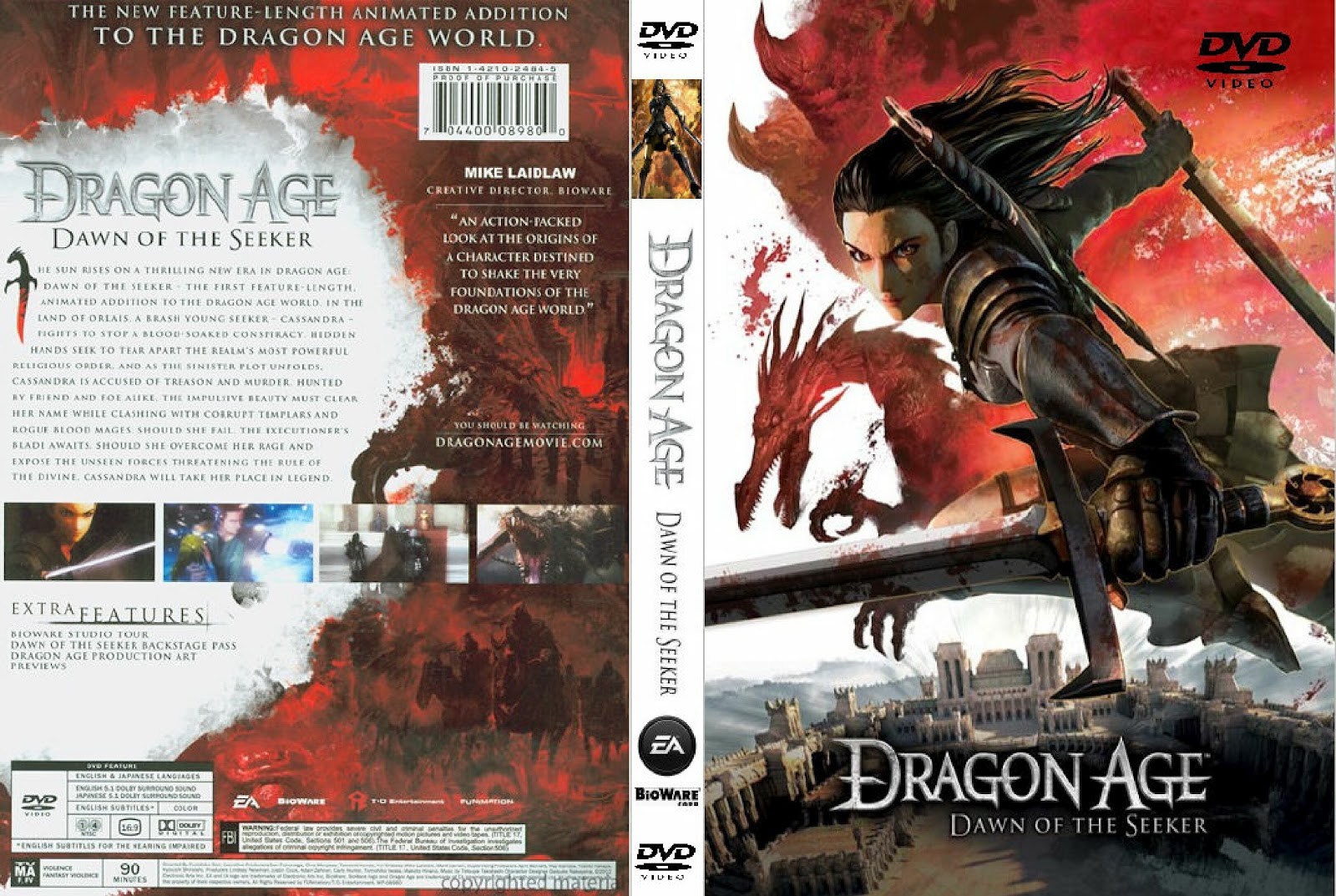 Dragon Age: Dawn of the Seeker Filme Dragon+Age+Dawn+Of+The+Seeker
