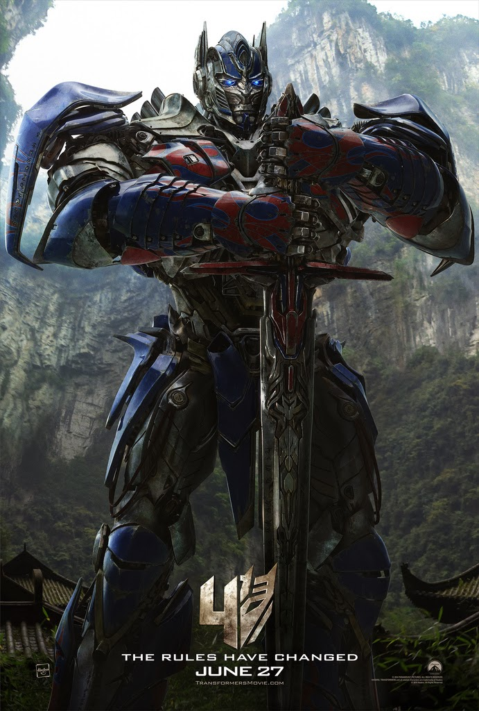 Optimus Prime with Sword from Transformers 4