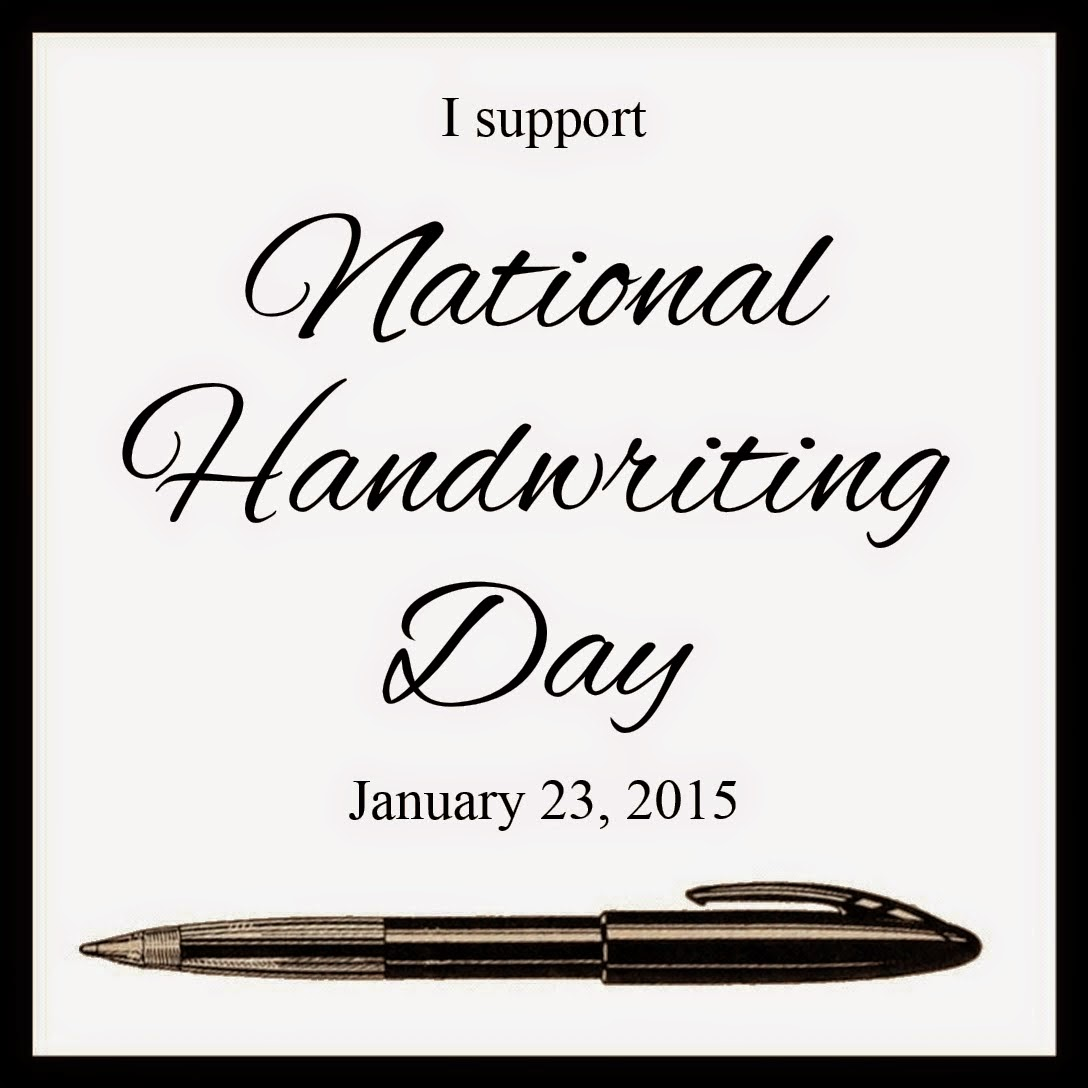 National Handwriting Day - Jan. 23