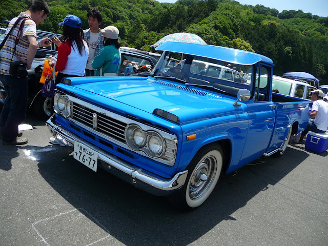 Toyota Stout stary japoński samochód oldschool klasyk