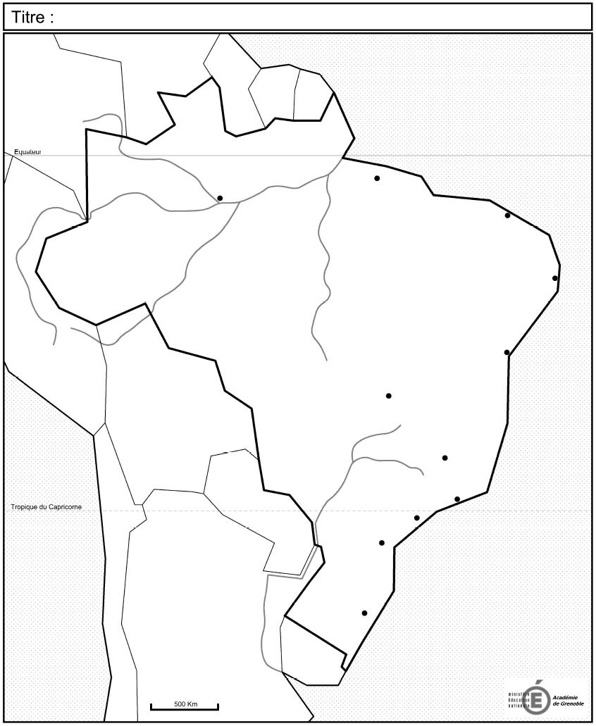 Fond De Carte Bresil Eduscol.Histoire Geographie Autres Fonds De Carte Pour Les Terminales