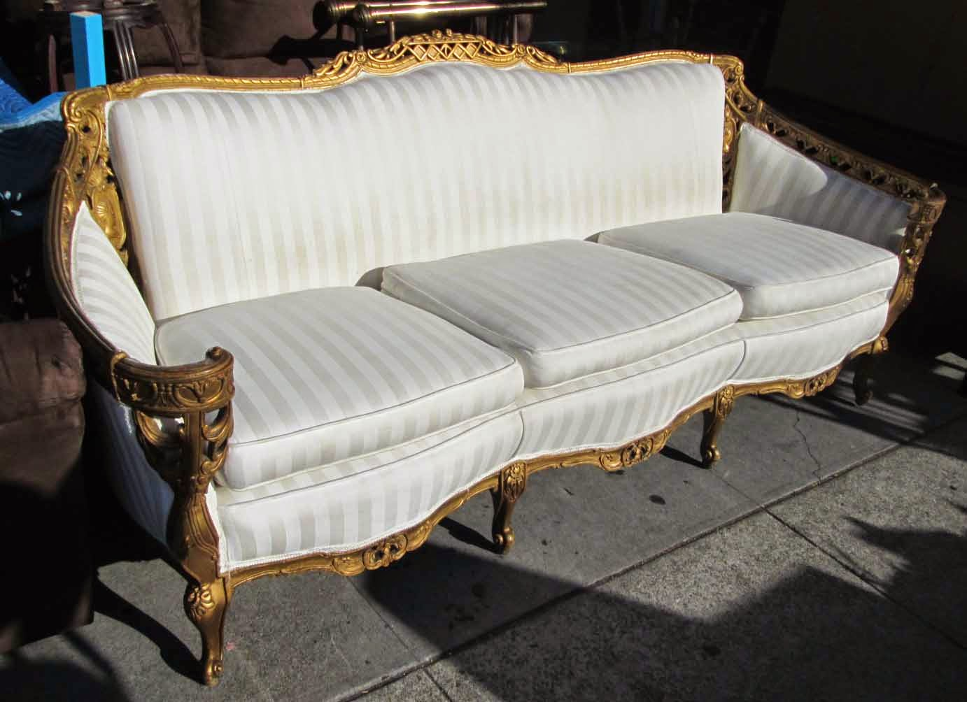 Uhuru furniture collectibles sold louis xiv style antique sofa 350 Antique loveseat styles