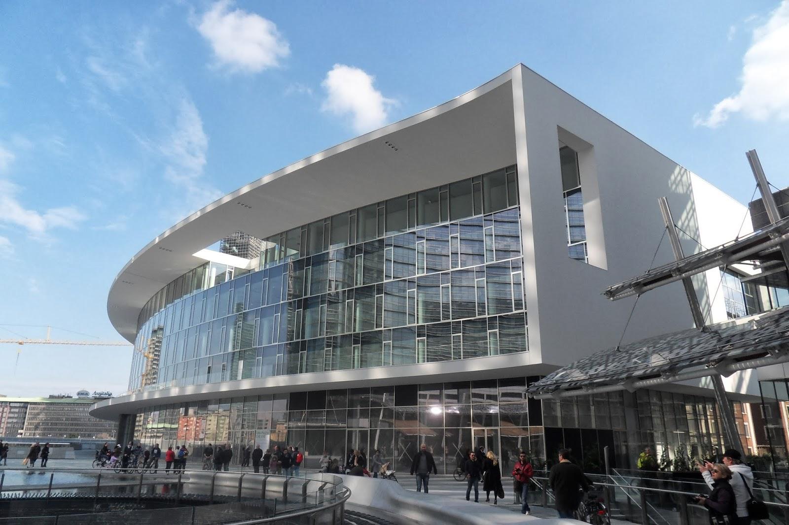Appunti di architettura milano che cambia complesso - Uffici gtt porta nuova ...