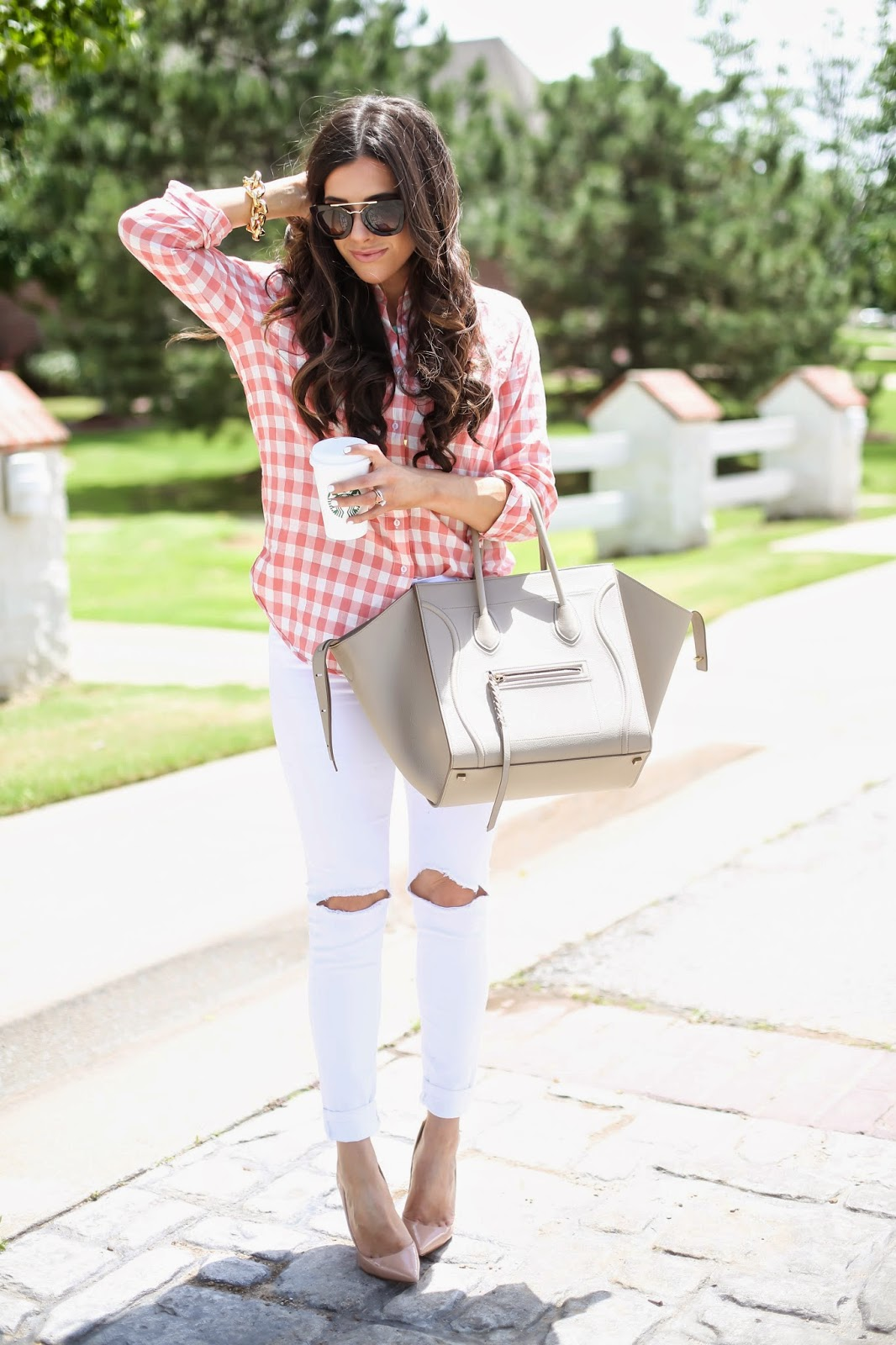 celine purse replica - The Sweetest Thing: Spring Gingham