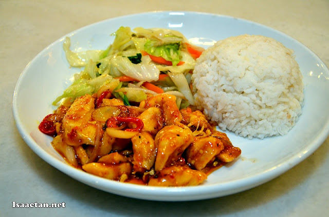 #10 Curry Kapitan Chicken with Rice - RM8.90