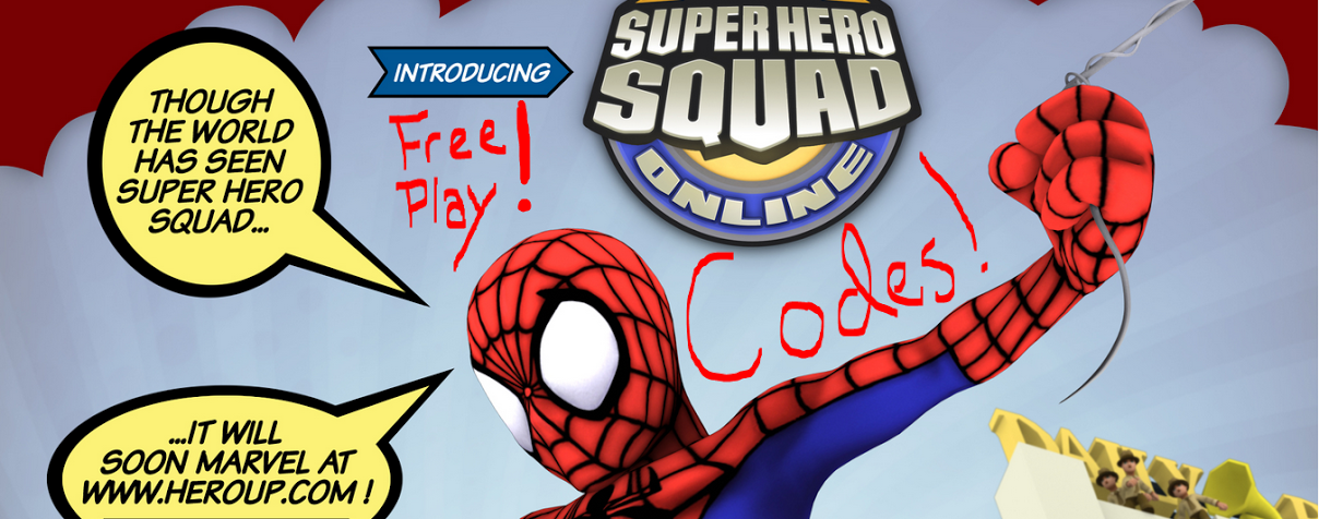 Super Hero Squad Blog a Place To Go for New Codes!